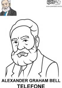 Printable coloring pages of alexander graham bell coloring pages