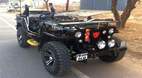 indian jeep modified modified open jeeps of india