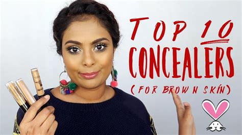 not fair the 10 best concealers for olive and dark skin tones top 10 concealers for brown tan indian skin youtube