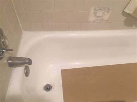 broken bathtub drain broken tile and bathtub around drain picture of knights