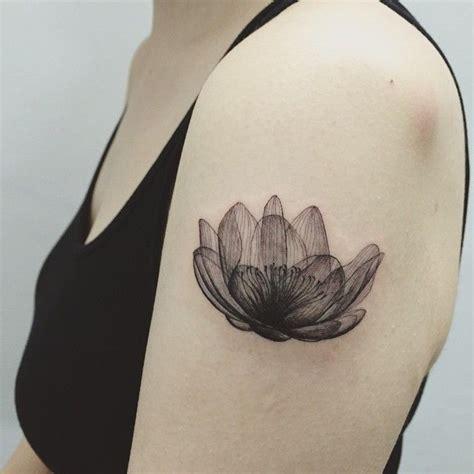 tattoo pen up close line flower lotus close up tattoo tattoos ink