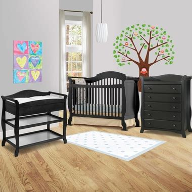 Stork Craft Aspen Crib by Storkcraft 3 Nursery Set Valentia Convertible Crib