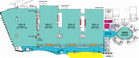 Moscone Center Floor Plan by Wondering About Wandering Wondercon The Beat