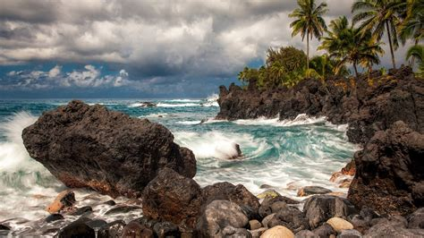 Free Search Hawaii Hawaii Rocks Island Hd Wallpaper Stylishhdwallpapers