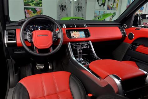land rover autobiography red interior 2014 range rover sport price specs overview photos all new