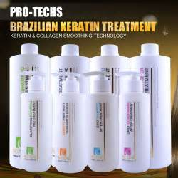 professional salon hair relaxing care products keratin for