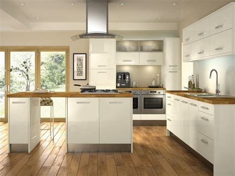 ivory kitchen ideas minoco ivory this gloss kitchen door would make any