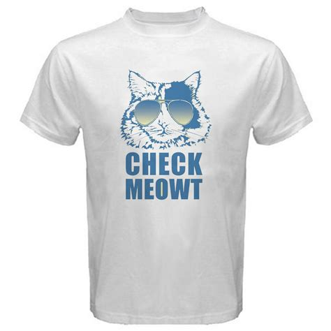 T Shirt Cat Lover cat t shirt cat check meowt humor t