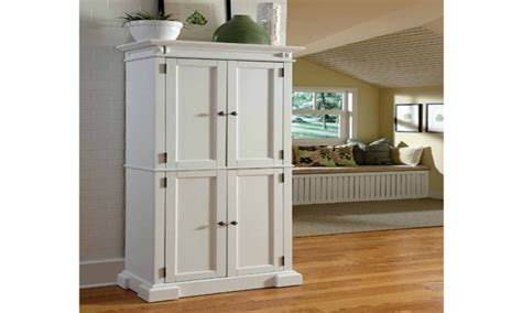 Kitchen Storage Cabinets Free Standing White Pantry White Kitchen Storage Cabinet