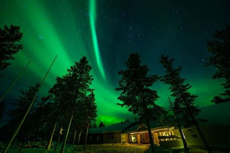 Finland Northern Lights by Muotka Maja Wilderness Lodge Lapland Holidays