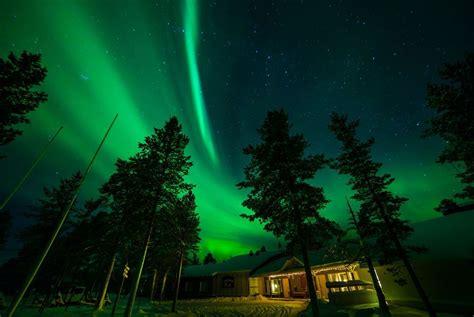 lapland finland northern lights muotka wilderness lodge lapland holidays 2018