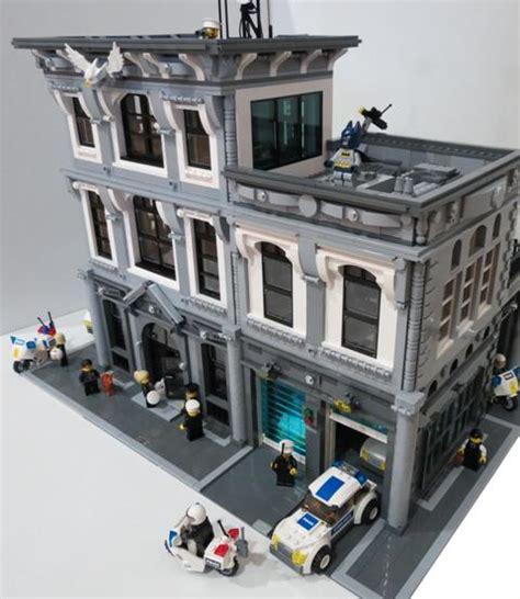 lego headquarters lego police station moc moc police headquarters lego