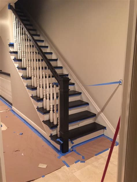 Wrought Iron Banisters What Color Spindles Look The Best