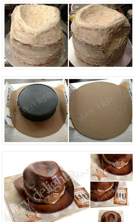 How To Make A Cowboy Hat Out Of Paper - 18 best cowboy hats boot cakes images on
