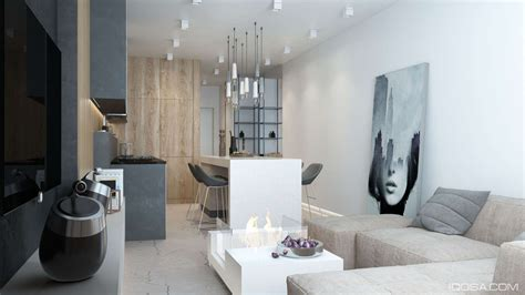 minimalist one room apartment luxury small studio apartment design combined modern and