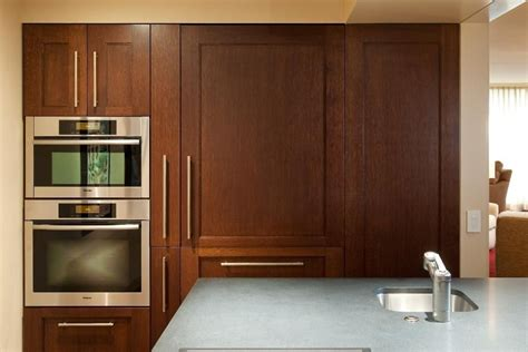 sleek kitchen cabinets sleek contemporary kitchen cabinets in dark wood
