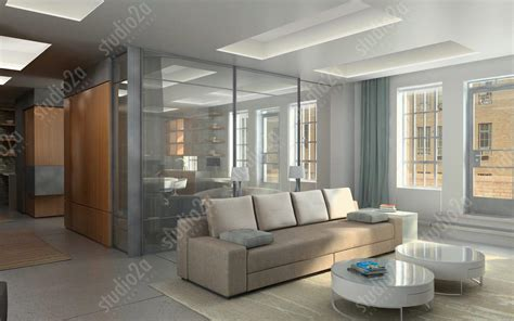 penthouse interior 3d interior renderings residential penthouse interior
