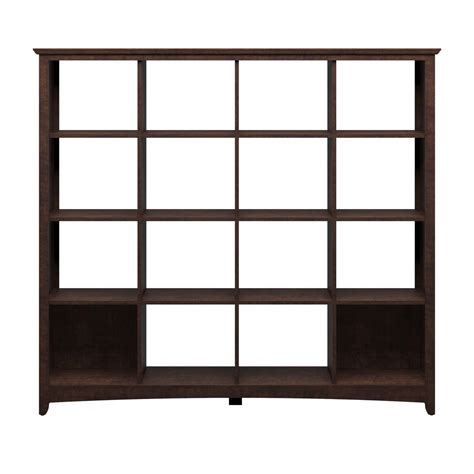 Cube Room Divider Bush Furniture Buena Vista 16 Cube Bookcase Room Divider By Oj Commerce My13803 03 247 59