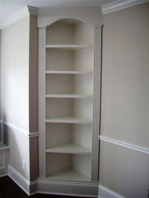 built in shelves in bathroom bathroom built in corner shelves search
