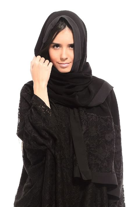 Abaya Turkey 7 Colored Abaya Collection 2014 2015 Arzu Ergen Black