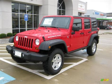 flame red jeep 2011 flame red jeep wrangler unlimited rubicon 4x4