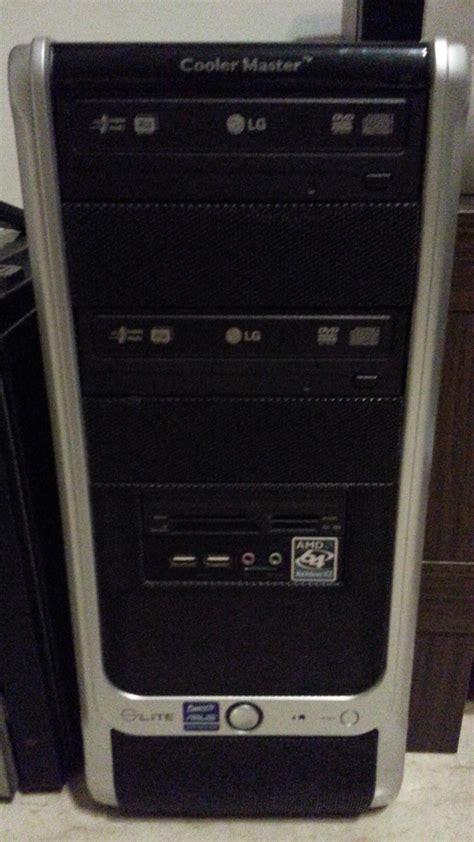 casing lg ke770 fulset amd desktop set with monitor cheap sb 100