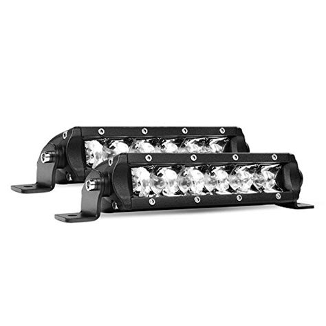 led fog light bar led light bar nilight slim 2pcs 7 inch 30w spot