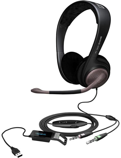 Headset Gaming Sennheiser sennheiser pc 163d gaming headset 504128 504128