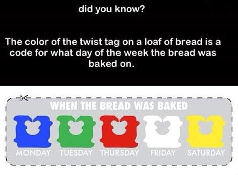 bread ties colors bread twists colors