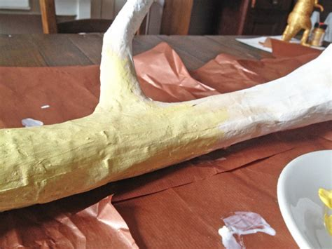 How To Make A Deer Out Of Paper - how to make deer antlers my diy deer antlers