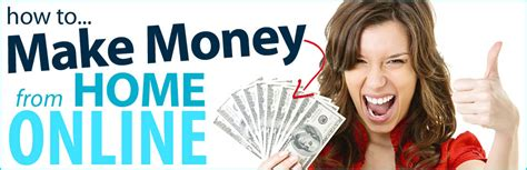 How Can I Make Money From Home by Click For Money Websites What You Need To