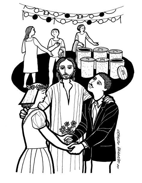 Wedding At Cana Catholic Interpretation by Daily Gospel Catholic Readings For Sunday January 17 2016
