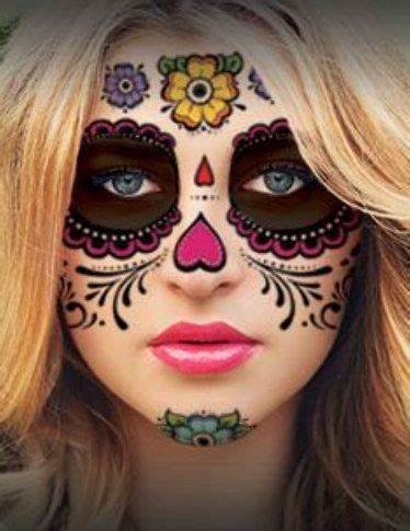 temporary face tattoos halloween best 25 skull ideas on skull