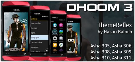 themes for nokia asha 309 mobile dhoom 3 theme for nokia asha 305 asha 306 asha 308 asha