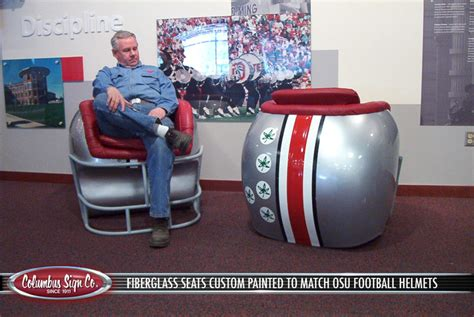 football helmet shaped chair quot cave quot furniture help needed eleven warriors