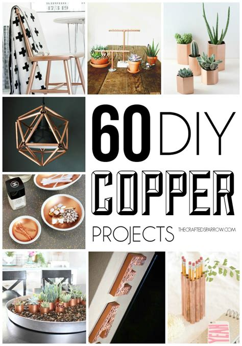 Home Decor Sewing Blogs 60 diy copper projects