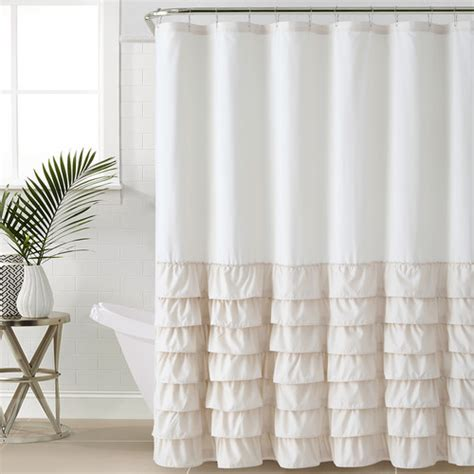 twinkle shower curtain essential living twinkle white shower curtain walmart com