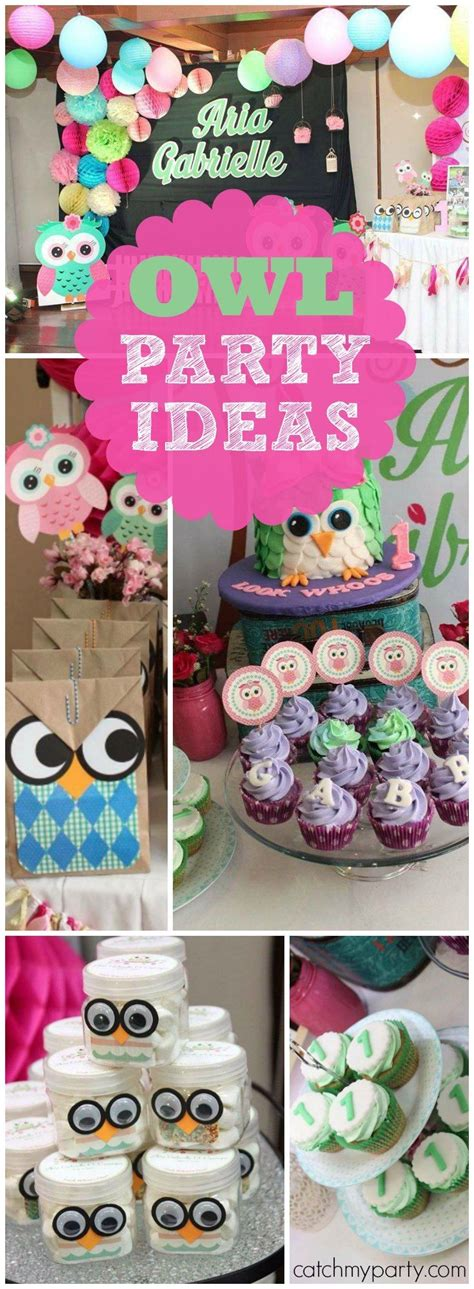 cute girl themes download owl birthday quot aria gabrielle s owl party quot girl