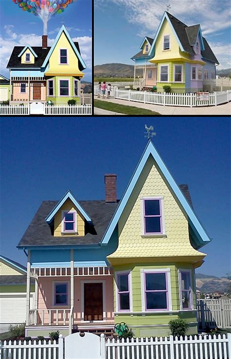 real life up house real life up house in utah completed techeblog