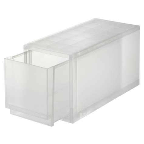 Muji Dresser by Pp Additional Drawer W18 D40 H21cm Muji