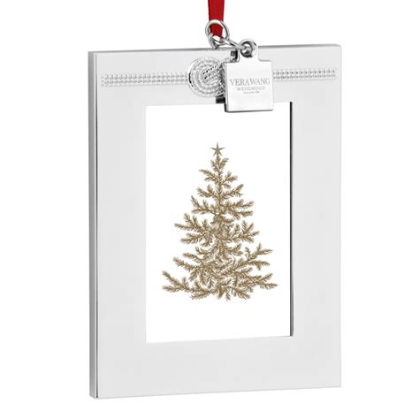 vera wang infinity picture frame christmas ornament 2016