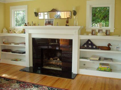 bookshelves next to fireplace custom built in fireplace niche or recessed bookshelves wall unit tv center or cabinet nyc