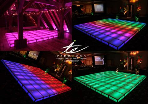 rent a led floor for your or event