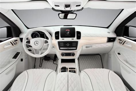interieur auto topcar shows off all white interior for armoured mercedes
