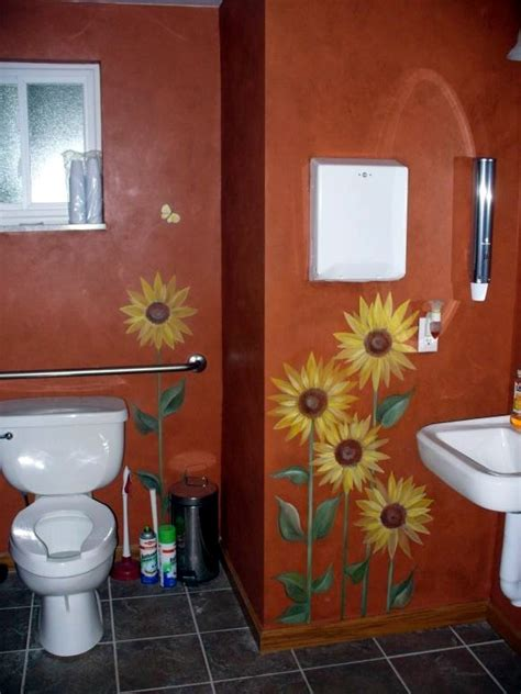 sunflower bathroom sunflower bathroom for the home pinterest