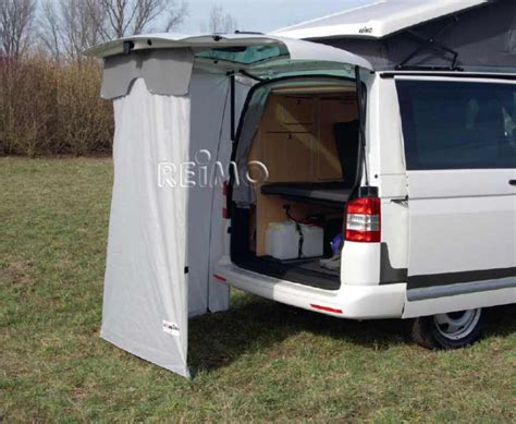 vw t5 tailgate awning rear tent instant for vw t5 93790 reimo com en