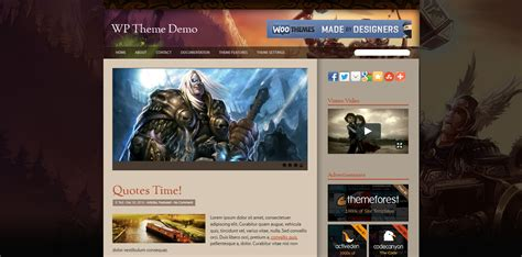 free wordpress blog themes 2013 blogoftheworld premium wordpress theme world of warcraft new