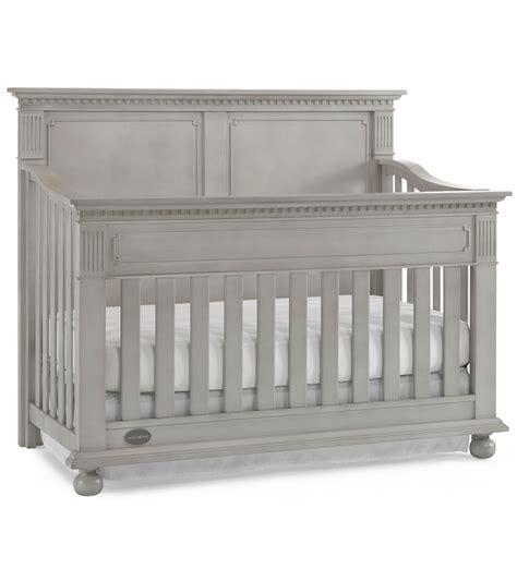 Gray Convertible Cribs Dolce Babi Naples Panel Convertible Crib In Grey Satin