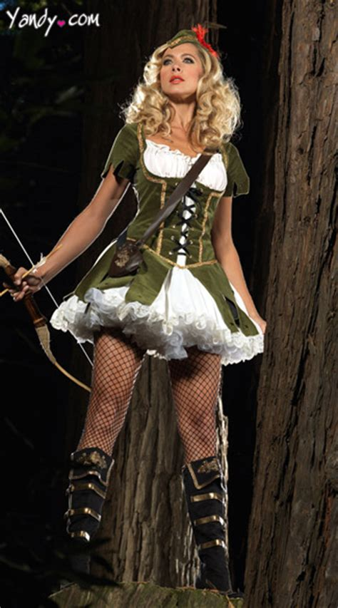 womens robin hood costume thief  hearts costume princess  theives costume