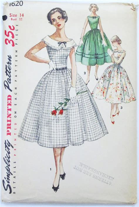 sewing patterns pintucks vintage simplicity sewing patterns 1958